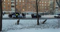 В Омске произошло ДТП с участием автомобиля ДПС