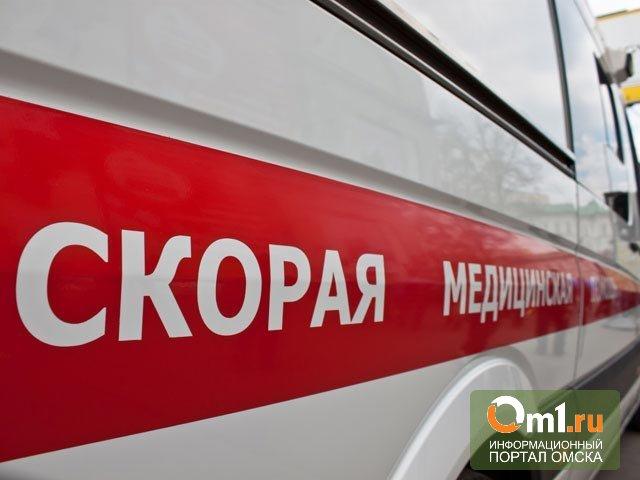 В Омске в лобовом столкновении пострадала двухлетняя девочка