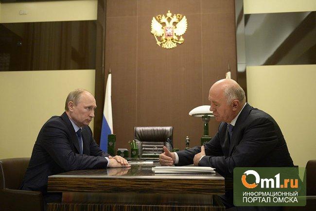 Президент принял отставку губернатора Самарской области