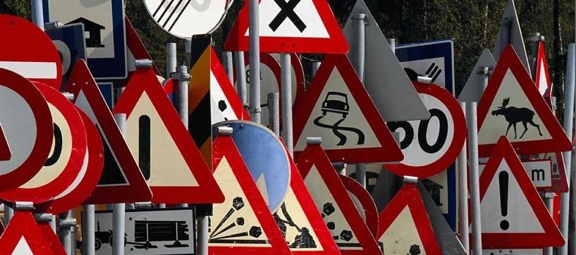 На омских улицах появятся новые дорожные знаки