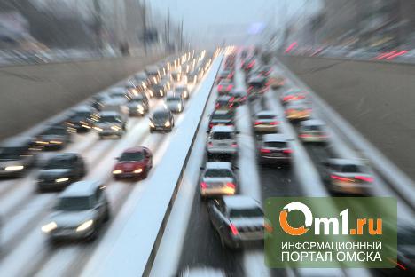 Яндекс: в Омске невозможно ездить ни днем, ни вечером