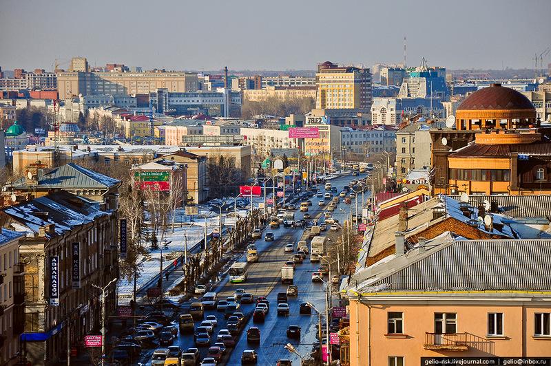 В центре Омска улицы освободят от рекламы