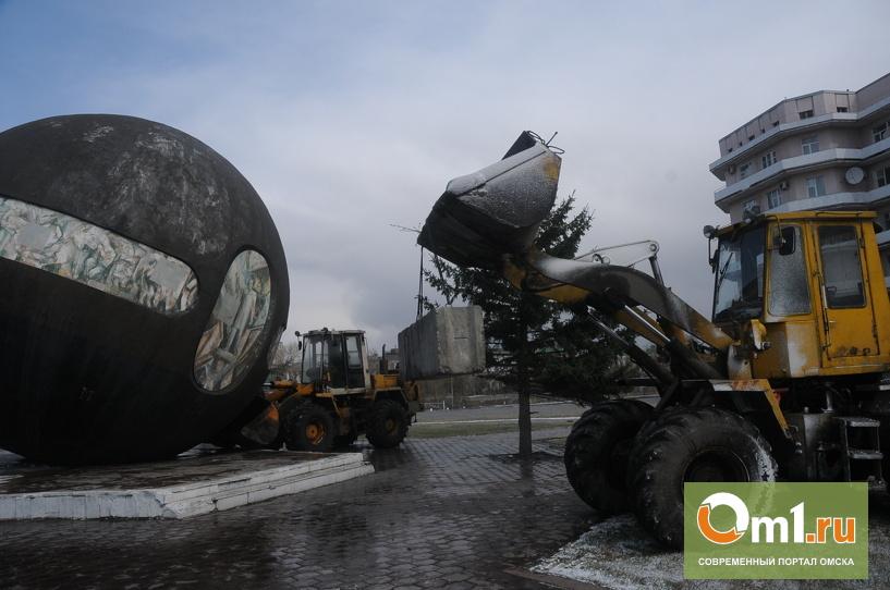 Ураган в Омске: на Речном вокзале укатился шар
