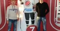 Футболисты омского «Иртыша» посетили матч «Авангарда»