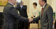 Вукан Вучик встретился с губернатором Омской области