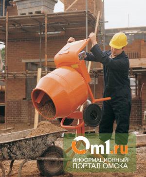 Омского строителя засосало в бетономешалку