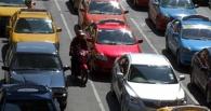 Пробки в Омске: рабочая неделя начинается с 5-балльных пробок