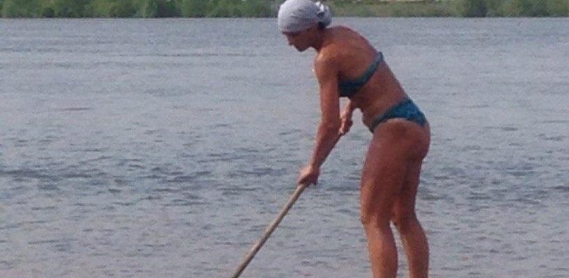 В Омске теперь появилась еще и «пляжная фея»