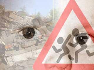 В Омске автоледи сбила 7-летнего ребенка на обочине