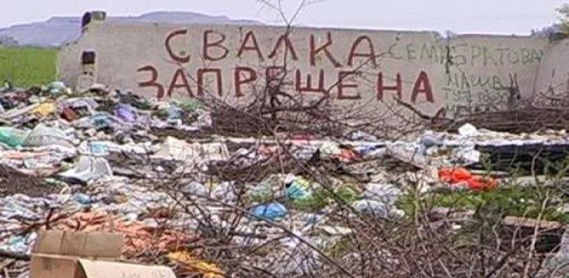 В лесах вокруг Омска обнаружили 16 тайных свалок