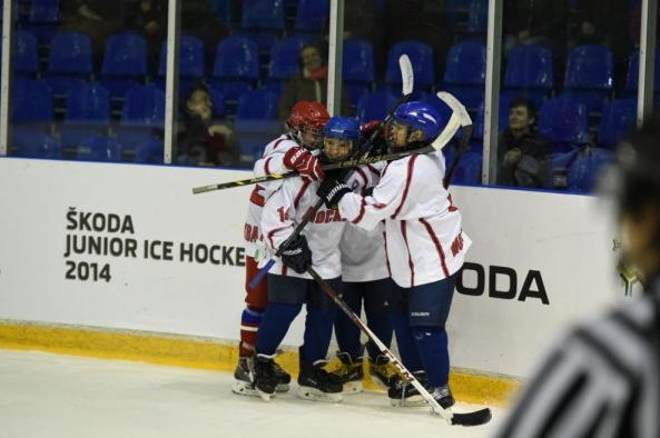 Юные звезды хоккея соберутся на финале турнира ŠKODA JuniorIceHockeyCup 2014 в Москве