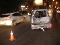В Омске у «Каскада» столкнулись три автомобиля