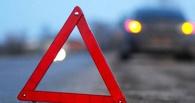 В Омске на улице Гагарина столкнулись две маршрутки и автобус
