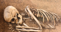 В Омской крепости рабочие нашли части человеческого скелета