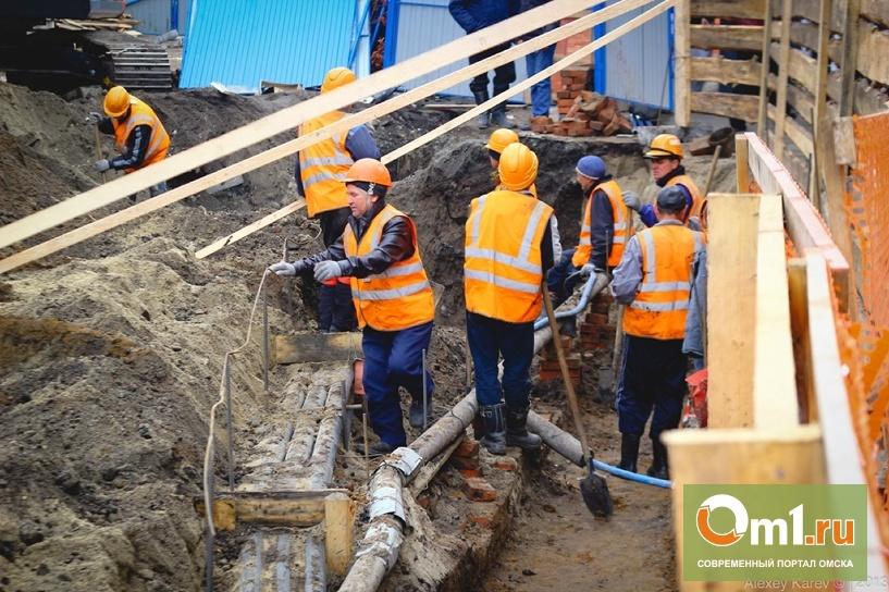 Переход на «Голубом огоньке» в Омске не достроили из-за «косяков» подрядчика