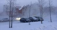 В Омске парковку у «Зеленого острова» второй день заливает кипятком