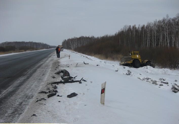 В Омской области в смертельном ДТП погибло двое человек