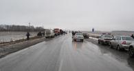 На трассе Тюмень-Омск насмерть разбились два человека