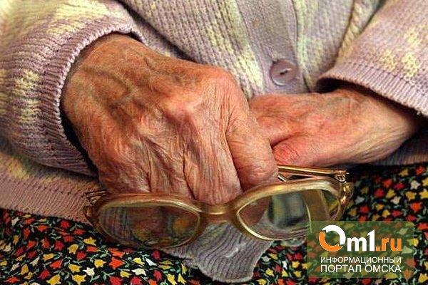 В Омской области грабители украли у пенсионерки деньги и продукты