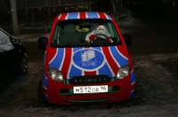 В Екатеринбурге ездит вязаный автомобиль