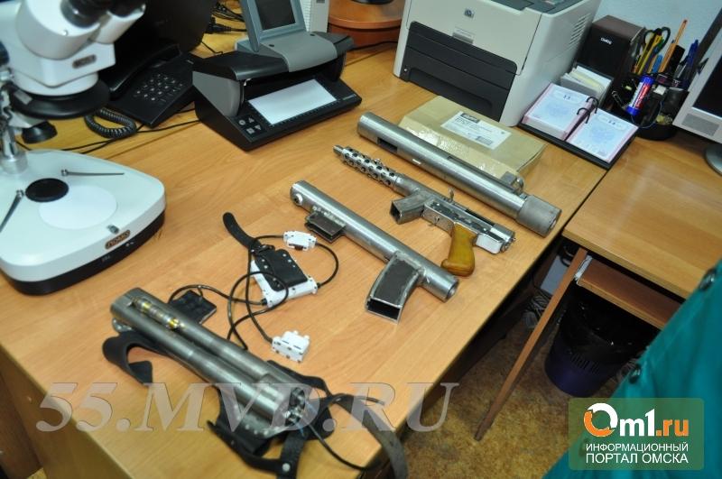 В Омске в районе дач «Ромашка» изъяли арсенал раритетного оружия