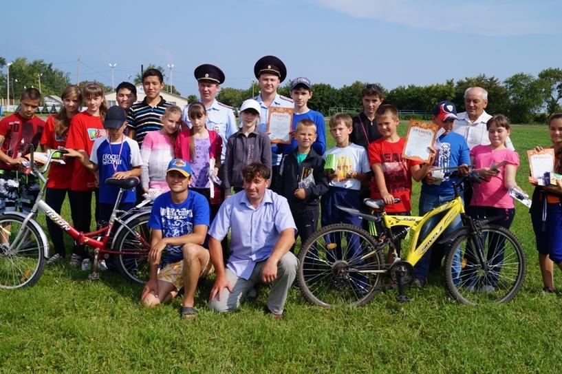 В Омской области открыли велосипедную площадку для детей
