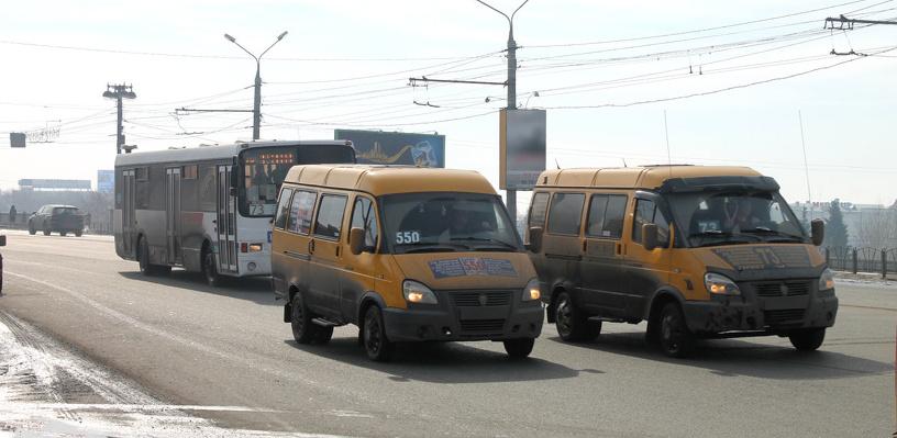 Маршрутки №322 и 374 работали в Омске нелегально