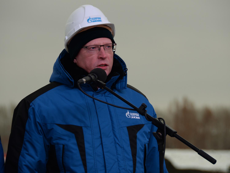 Александр Бурков дал старт строительству очистных сооружений наомском нефтезаводе
