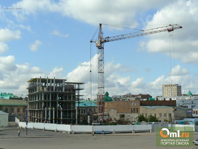 Омский минкульт разрешит достроить здание на Бударина?