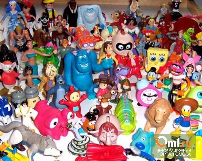 Роспотребнадзор в Омске нашел опасные игрушки