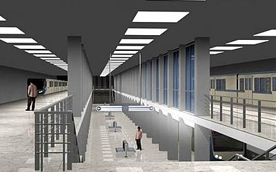 К концу года на станции «Заречная» омского метро появятся платформы