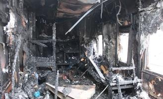Четверо рабочих омской фирмы заживо сгорели в строительном вагончике под Иркутском
