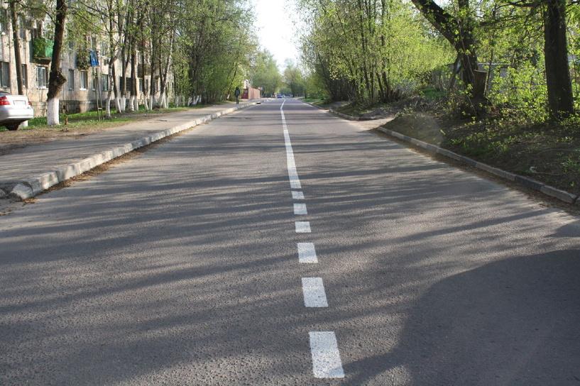 В Омске обновят дорожную разметку на центральных улицах