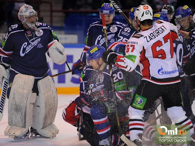 Омский «Авангард» проиграл «Сибири» в шестом матче серии