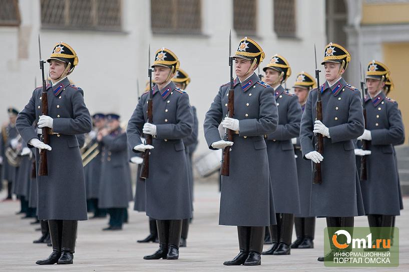 29 омских призывников отправятся служить в Президентский полк