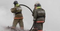 В Омске сгорела «Восточная кухня»