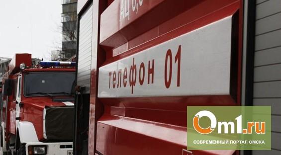 "На заводе ""Омский каучук"" взорвался метанол"