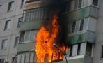 В Омске горел 14-этажный жилой дом