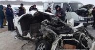 В Омской области «Газель», везущая гроб на кладбище, попала в ДТП