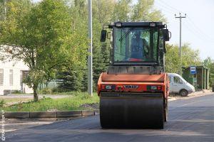 В Омске ремонтируют дороги