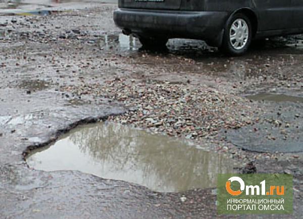 Чиновники видят решение омского «дорожного вопроса» в ночных ремонтах