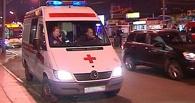 В Омске на пешеходном переходе у «Галактики» маршрутка сбила пожилого мужчину