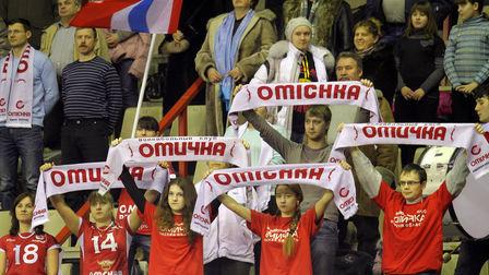 «Омичка» готовится к матчу полуфинала Кубка ЕКВ-2013