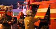 В Омске чуть не сгорело кафе «Ветерок»