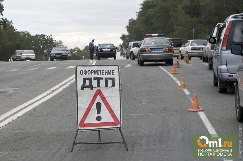 В Омской области в ДТП пострадали три ребенка