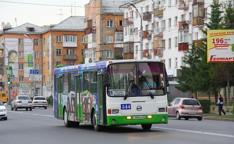 Еще один омский автобус