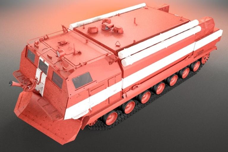 Разработанный в Омске пожарный «танк» принят на вооружение минобороны России