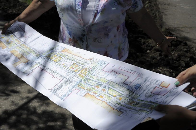 Ко Дню города в Центральном округе Омска обустроят новый бульвар