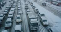 Восемь баллов: ледяной дождь в Омске парализовал движение