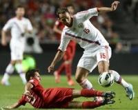 Сборная России проиграла Португалии в отборочном матче на ЧМ-2014